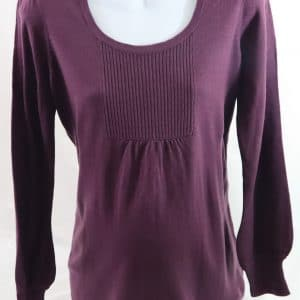 used maternity clothes, oh baby by motherhood, maternity sweater