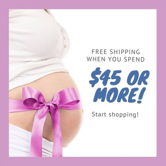 Free shipping when you spend $45 or more!