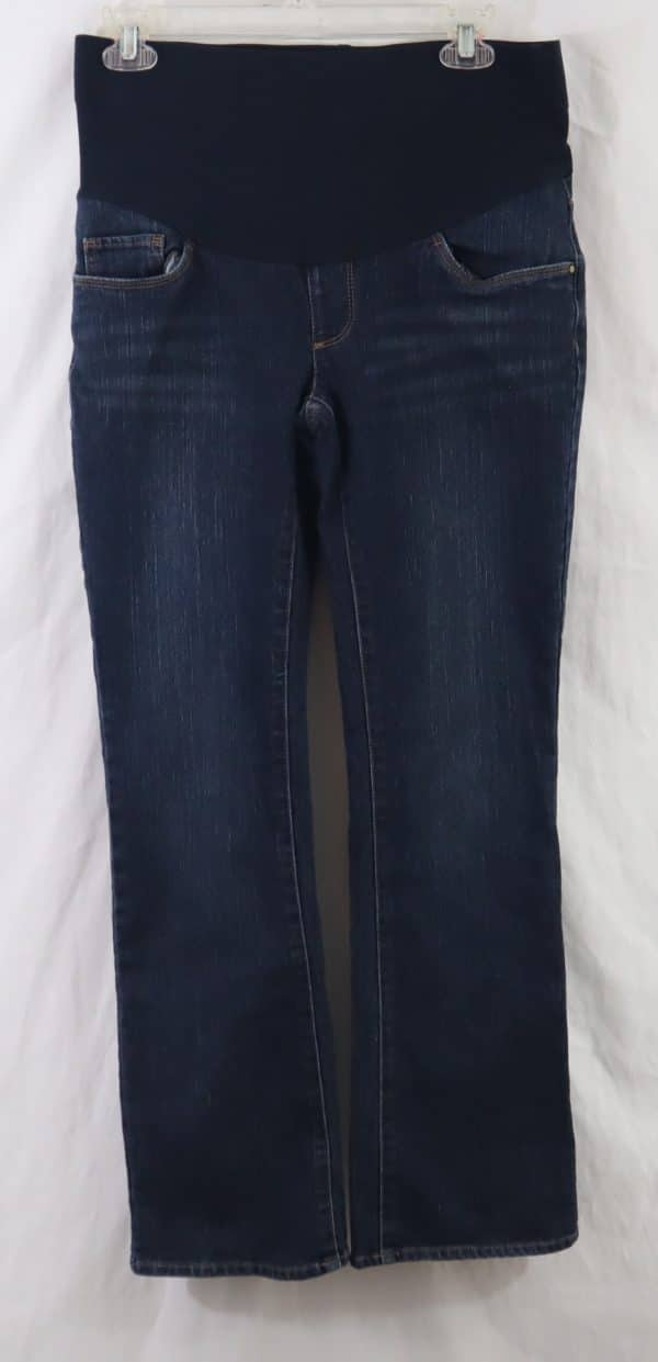 used maternity jeans, oh baby by motherhood jeans, maternity clothes